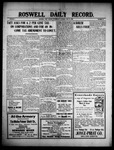 Roswell Daily Record, 06-16-1909 by H. E. M. Bear