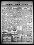 Roswell Daily Record, 06-18-1909 by H. E. M. Bear