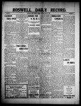 Roswell Daily Record, 06-21-1909 by H. E. M. Bear