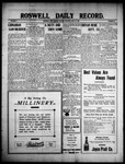 Roswell Daily Record, 06-22-1909 by H. E. M. Bear