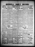 Roswell Daily Record, 06-23-1909 by H. E. M. Bear
