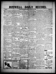 Roswell Daily Record, 06-24-1909 by H. E. M. Bear