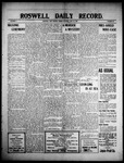Roswell Daily Record, 06-25-1909 by H. E. M. Bear