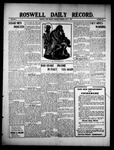 Roswell Daily Record, 07-01-1909 by H. E. M. Bear