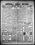 Roswell Daily Record, 07-02-1909 by H. E. M. Bear