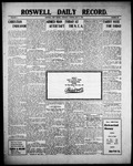 Roswell Daily Record, 07-08-1909 by H. E. M. Bear