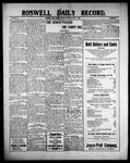 Roswell Daily Record, 07-09-1909 by H. E. M. Bear