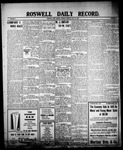 Roswell Daily Record, 07-13-1909 by H. E. M. Bear