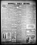 Roswell Daily Record, 07-14-1909 by H. E. M. Bear