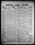 Roswell Daily Record, 07-17-1909 by H. E. M. Bear