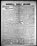 Roswell Daily Record, 07-28-1909 by H. E. M. Bear