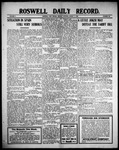 Roswell Daily Record, 08-02-1909 by H. E. M. Bear