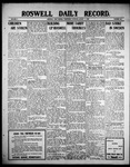 Roswell Daily Record, 08-04-1909 by H. E. M. Bear