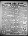 Roswell Daily Record, 08-05-1909 by H. E. M. Bear