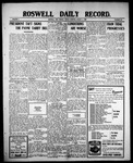 Roswell Daily Record, 08-06-1909 by H. E. M. Bear