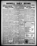Roswell Daily Record, 08-09-1909 by H. E. M. Bear