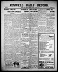 Roswell Daily Record, 08-11-1909 by H. E. M. Bear