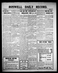 Roswell Daily Record, 08-13-1909 by H. E. M. Bear
