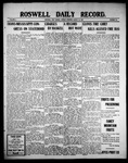 Roswell Daily Record, 08-16-1909 by H. E. M. Bear