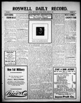 Roswell Daily Record, 08-17-1909 by H. E. M. Bear