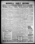 Roswell Daily Record, 08-18-1909 by H. E. M. Bear