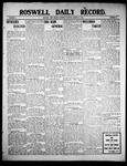 Roswell Daily Record, 08-21-1909 by H. E. M. Bear