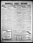 Roswell Daily Record, 08-23-1909 by H. E. M. Bear