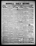 Roswell Daily Record, 08-25-1909 by H. E. M. Bear