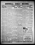 Roswell Daily Record, 08-26-1909 by H. E. M. Bear