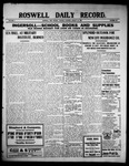 Roswell Daily Record, 08-31-1909 by H. E. M. Bear