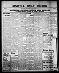 Roswell Daily Record, 09-02-1909 by H. E. M. Bear