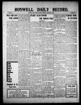 Roswell Daily Record, 09-07-1909 by H. E. M. Bear