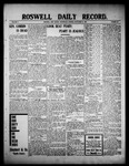 Roswell Daily Record, 09-08-1909 by H. E. M. Bear