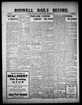 Roswell Daily Record, 09-11-1909 by H. E. M. Bear