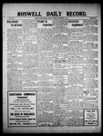 Roswell Daily Record, 09-13-1909 by H. E. M. Bear