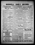 Roswell Daily Record, 09-14-1909 by H. E. M. Bear