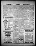Roswell Daily Record, 09-15-1909 by H. E. M. Bear