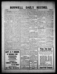 Roswell Daily Record, 09-16-1909 by H. E. M. Bear