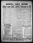 Roswell Daily Record, 09-23-1909 by H. E. M. Bear