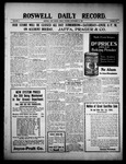 Roswell Daily Record, 09-24-1909 by H. E. M. Bear