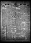 Roswell Daily Record, 01-08-1910 by H. E. M. Bear