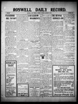 Roswell Daily Record, 01-11-1910 by H. E. M. Bear