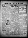 Roswell Daily Record, 01-13-1910 by H. E. M. Bear