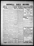 Roswell Daily Record, 01-14-1910 by H. E. M. Bear