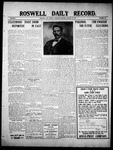 Roswell Daily Record, 01-15-1910 by H. E. M. Bear