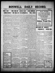 Roswell Daily Record, 01-20-1910 by H. E. M. Bear