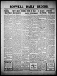 Roswell Daily Record, 01-24-1910 by H. E. M. Bear