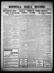 Roswell Daily Record, 01-26-1910 by H. E. M. Bear
