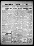 Roswell Daily Record, 01-28-1910 by H. E. M. Bear