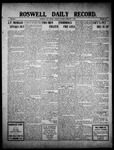 Roswell Daily Record, 02-07-1910 by H. E. M. Bear